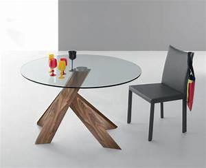 Esstisch Glas Holz : esstisch glas holz rund ~ Whattoseeinmadrid.com Haus und Dekorationen