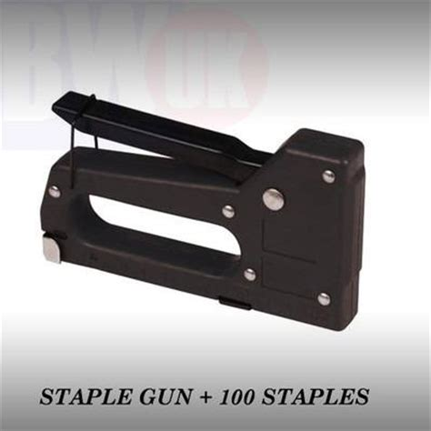 Upholstery Tacker by High Quality Staple Gun 100 Staples Upholstery Tacker