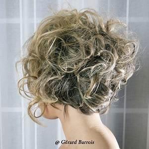 Carré Court Frisé : tonnant coupe cheveux boucl s carre coupe carr cheveux ~ Melissatoandfro.com Idées de Décoration