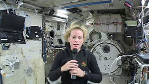 NASA Astronaut Kate Rubins Talks About Microbes - YouTube