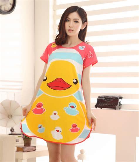 anting import piyama kartun ducky import py23 pink tamochi