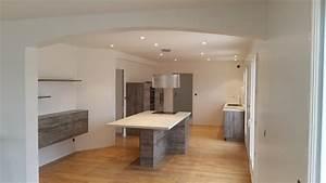 placo plafond salle de bain 17 cuisine ouverte sur With placo plafond salle de bain