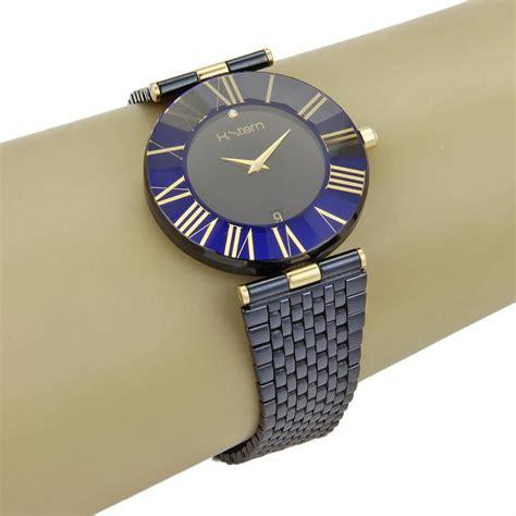 Blue Safir Ster h blue sapphire 18k stainless steel