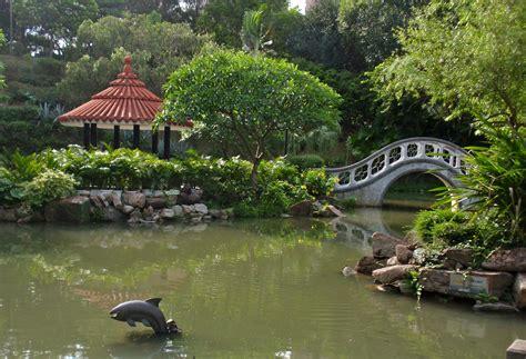 Nan Lian Garden Bridge Stock Image