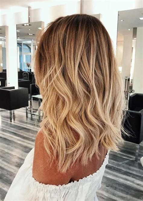 gorgeous golden blonde hair color ideas  women