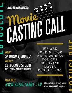 Audition Poster Design Image Result For Casting Call Auditions Psd Template