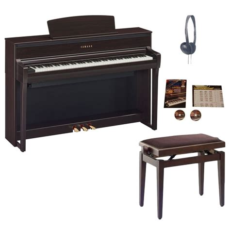 yamaha clp 675 yamaha clp 675 clavinova digital piano rosewood package from rimmers
