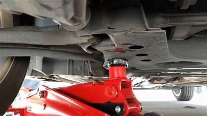 Brake Pads Change Ground Step Nuts Air