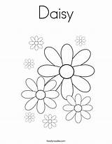 Daisy Coloring Pages Colouring Scout Printable Sheet Many Noodle Twistynoodle Printables Flowers Scouts Built California Usa Twisty sketch template
