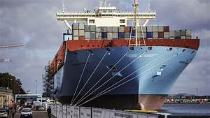 A Closer Look at the World's Largest Container Ship