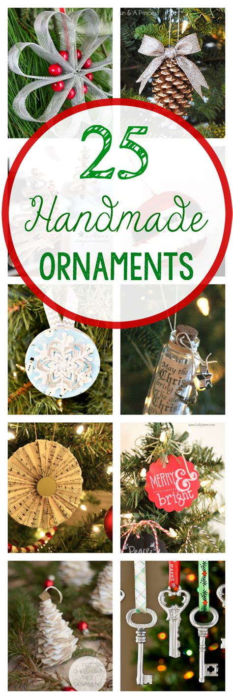 homemade christmas favors for adults 25 diy ornaments to make this year