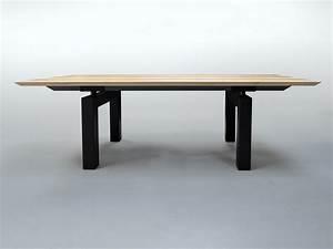 Table à Manger Bois Et Métal : table m cano m tal et bois massif design pur et a rien ~ Teatrodelosmanantiales.com Idées de Décoration
