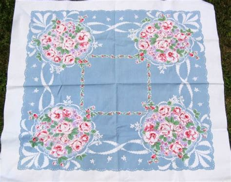 1000 images about vintage handkerchief tablecloths on