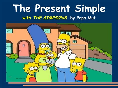 The Present Simple With The Simpsons