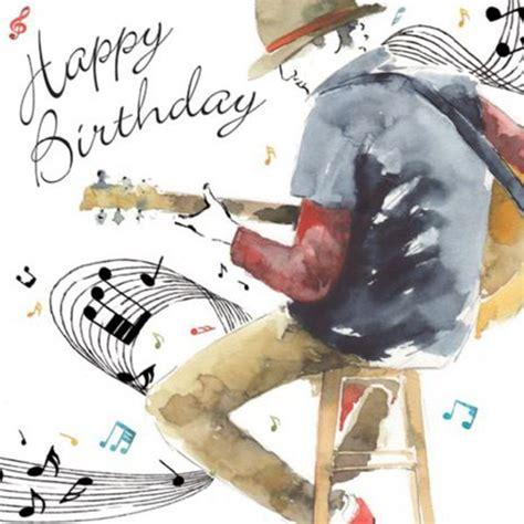 happy birthday guitarist card  birthday card