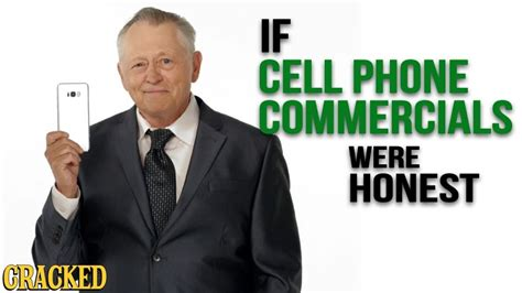 If Cell Phone Commercials Were Honest - Hones Ads (iPhone ...