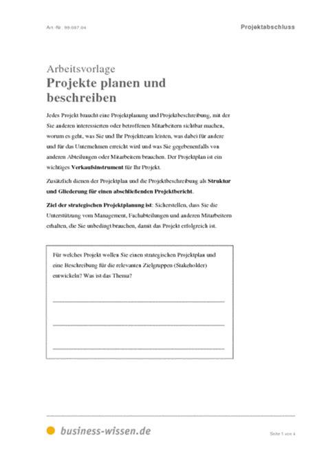 projektplan und projektdokumentation vorlage vorlage