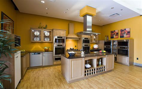 yellow kitchen designs желтые стены на кухне 50 фото идей дизайна интерьера 1217