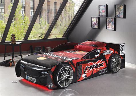 lit voiture tuning black avec led