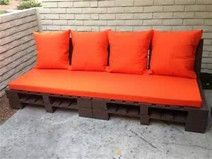 DIY Pallet Indoor Couch Ideas Pallets Designs