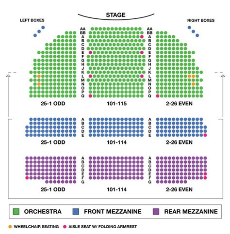 westchester broadway theatre seating chart seating chart broadway theatre broadway seating charts