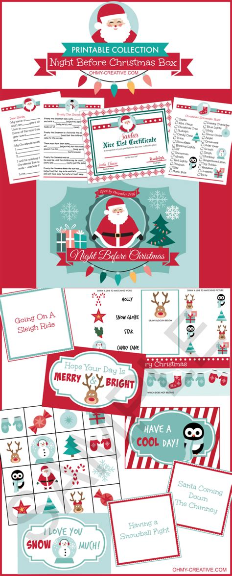 christmas printable bundle   creative