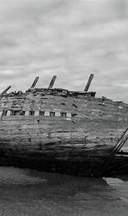 Here Lies Bad Eddie's Boat Bw Donegal Photograph by Eddie ...