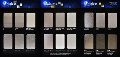 Stainless Steel Finish Samples|KIKUKAWA