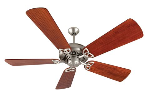 craftmade brushed nickel american tradition ceiling fan
