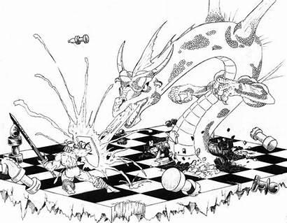 Chess Tournament Participants Comic Caption