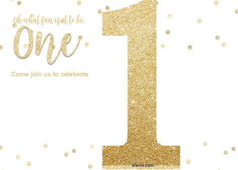 golden glitter birthday invitations templates
