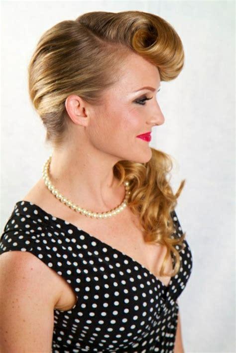 50er jahre frisur lange haare 140 rockabilly frisuren den 50er inspiriert
