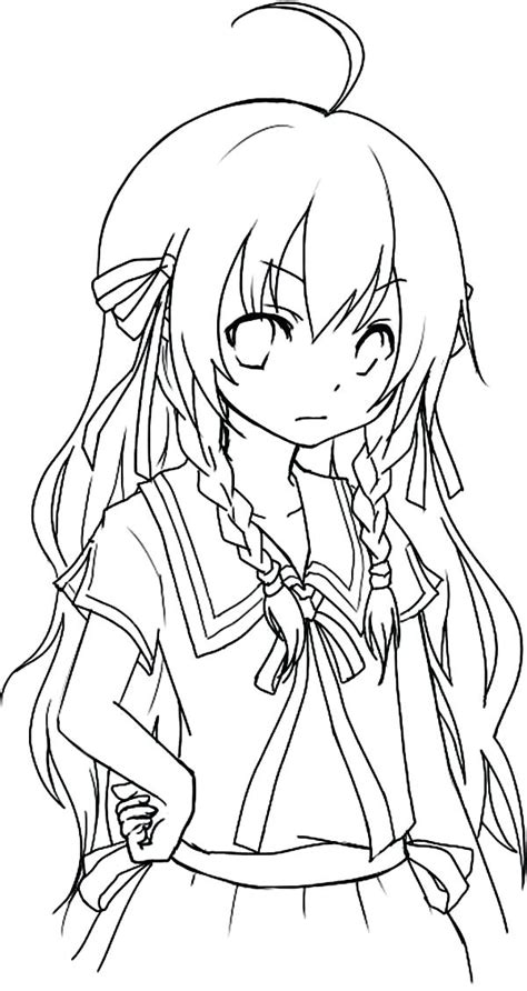 Anime Chibi Coloring Pages at GetColorings com Free