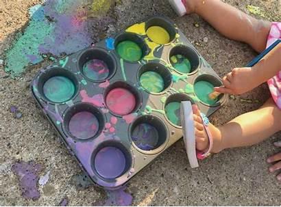 Chalk Paint Sidewalk Crafts Morning Crafty Projects