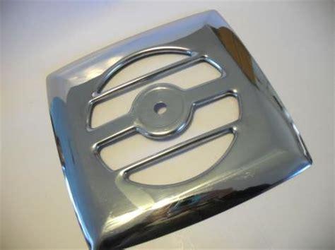 rv kitchen exhaust fan vintage chrome exhaust fan grill vent cover kitchen