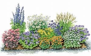 Blumenbeete Zum Nachpflanzen : zum nachpflanzen ein bl hendes beet aus schneckenresistenten stauden ~ Yasmunasinghe.com Haus und Dekorationen
