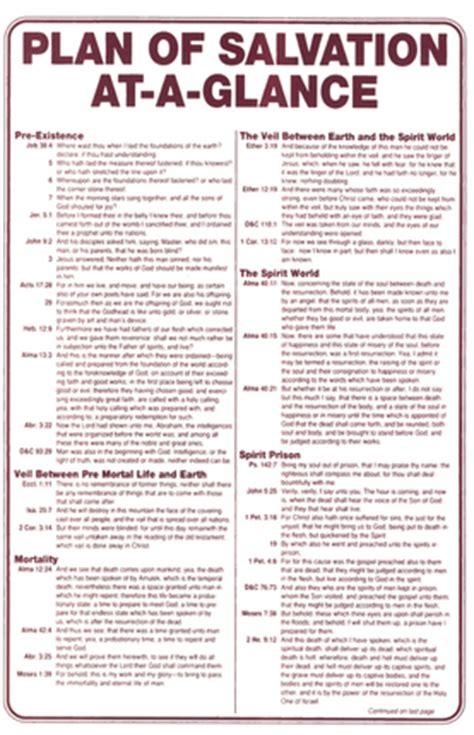glance plan  salvation deseret book