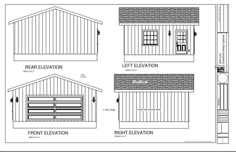 16x20 Garage Plans Free by Guide 16 X 20 Shed Building Plans Easy