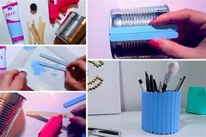 Faire Un Thé Glacé : fabriquer un pot crayon avec une boite de conserve et ~ Dode.kayakingforconservation.com Idées de Décoration