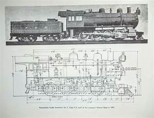 5 Pennsylvania Freight Train Diagram Print Railroad