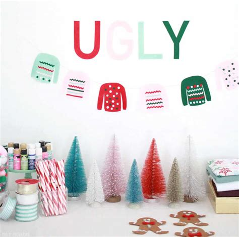 homemade ugly sweater party ideas pretty providence