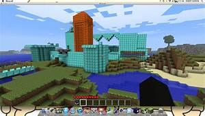 Diamond Lava Castle Minecraft Project