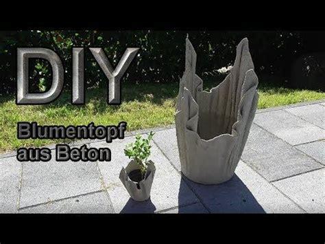 kreative beton pflanzenschalen youtube garten blumenkuebel pflanzkuebel und blumenkuebel beton