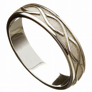 irish wedding ring celtic twist mens wedding band at With mens irish wedding ring