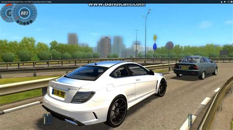 City Car Driving Mercedes-benz C63 Amg Coupe Black Series