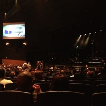 Inside The Theater For The John Legend Concert No Bad