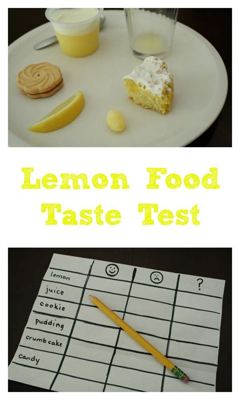 cuisine test馥 sense of taste for worksheet we explored our sense of