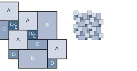 generate random tiling patterns with excel flooring and