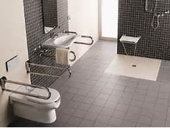 Disabled Bathroom by Disabled Adaptions Wet Rooms BST Plumbing Services Southampton