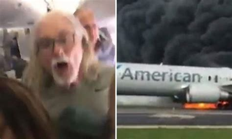 Chilling Video Shows Passengers Escaping American Airlines